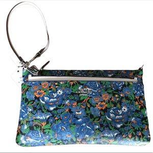 Coach Rose meadow pop pouch NWT